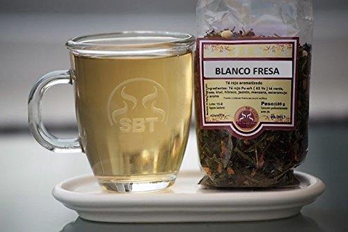 Té Blanco en Hebra Pai Mutan Fresa saboreateycafe - Bolsa 50 grs. - 100% primeras yemas de la planta del té - Recolectado manualmente - De sabor suave - Apto para celiacos - Bajo en teína.