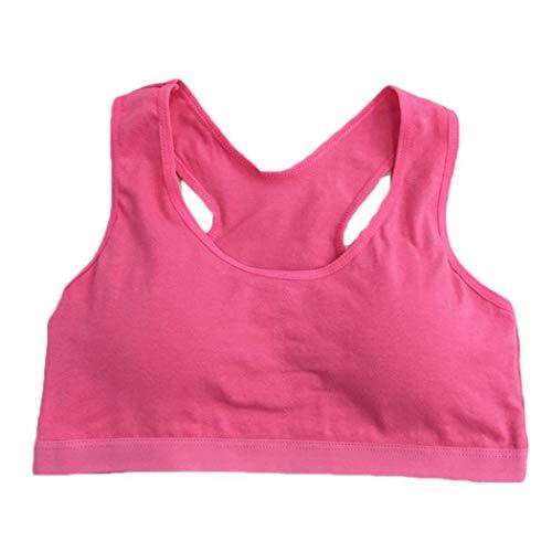 Yagot Damenmode Mädchen Weste BH Draht frei einfarbig täglich Baumwolle Bequeme sportliche Unterwäsche Klassische BHS -