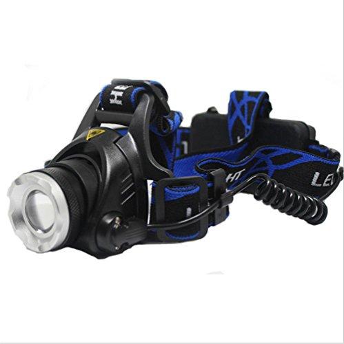 Lh&Fh V9 High Power LED Außenlicht Scheinwerfer Schwarz T6 Nacht Angeln Long - Halloween Energy High