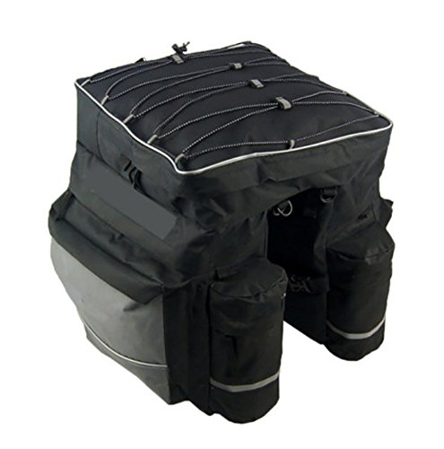 RUIX Fahrradtasche Radfahren Ausrüstung Mountainbike Hinterregal Paket/Hecktasche/Kamel Tasche