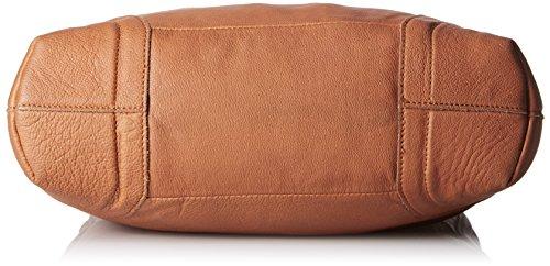 Liebeskind Tokio Sac à main porté épaule cuir 40 cm hazelnut brown