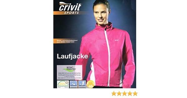 Crivit Damen Laufjacke Jacke atmungsaktiv wasser und windabweisend