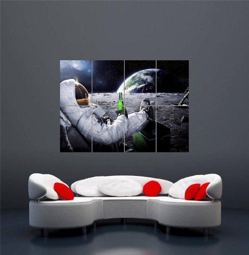carlsberg-beer-space-planet-e-h-moon-astronaut-ufo-giant-art-print-poster-plakat-druck-oz169