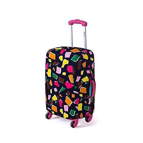 Funda maleta suave elástico de anti-polvo Cubierta de...