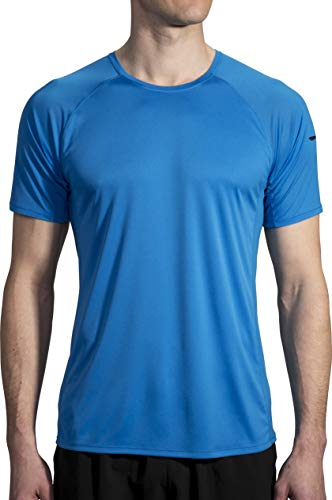 Brooks Athletic Apparel (Brooks Stealth Herren Kurzarmshirt - blau - Mittel)