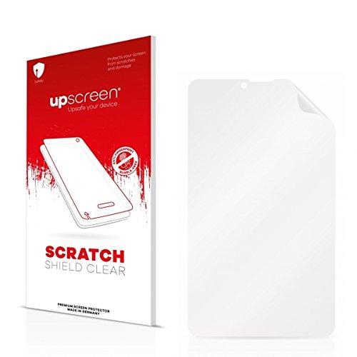 upscreen Scratch Shield Clear Bildschirmschutz Schutzfolie für i.onik TM3 Serie 1 - 7 (hochtransparent, hoher Kratzschutz)