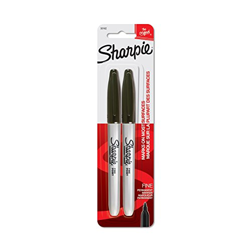 sharpie-fine-point-marqueur-permanent-cardee-2-pkg-noir
