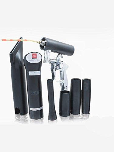 BENBOW Vacuum Classic Aspirateur Nettoyeur avec un systeme de roulement +tissu en microfibre
