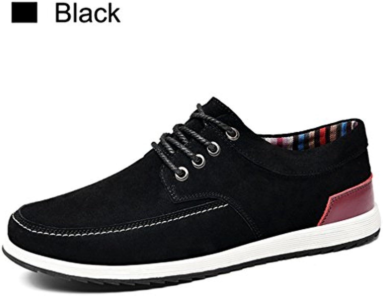 Herren Leder Freizeitschuhe Spring Fashion Turnschuhe Männer Loafers Erwachsene Mokassins Maumlnnlich Wildleder Schuhe