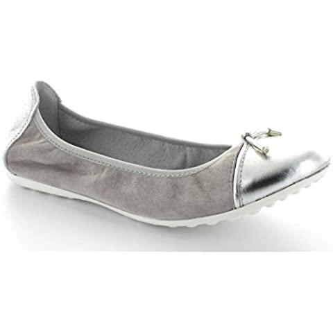 Bailarina Acebo'5900SO s, color Gris y plateado