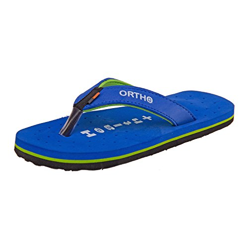 77 Seventy Seven Women Flip Flops Trendy Premium Design Confortable, Light Weight, Boy Walking Slippers (Blue)  available at amazon for Rs.237
