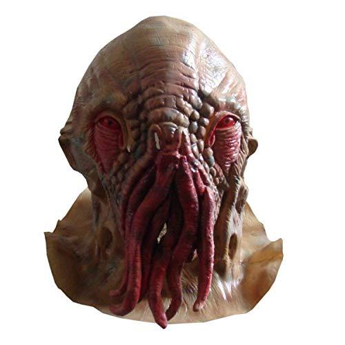 Kostüm Urkomisch - Halloween-Horror-Maske, humorvolle Maskerade-Abschlussball-Maske Mysteriöser Doktor Wande Octopus Masks Devil Alien