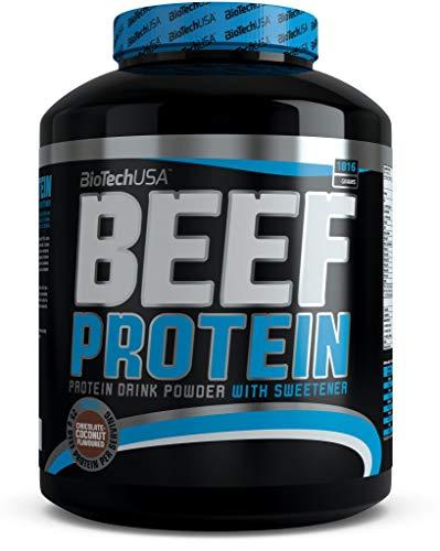 BioTech Beef Protein Hydro Beef Proteínas de Carne de Vacuno, Sabor Vainilla y Canela - 1816 gr