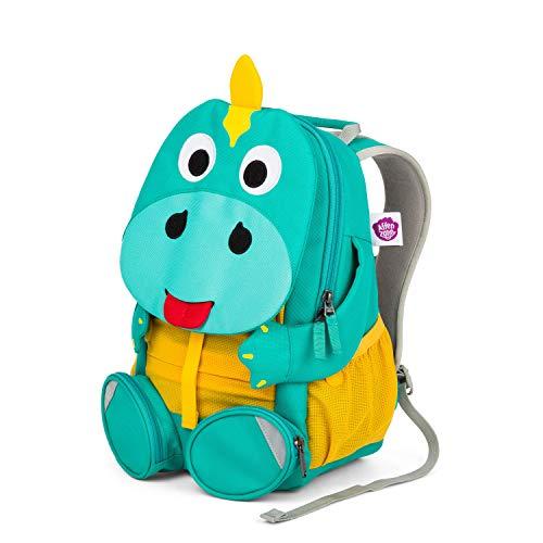 Affenzahn Kinderrucksack für 3-5 Jährige im Kindergarten - Didi Dino - Türkis
