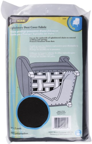 dritz-dritz-44296-dust-cover-upholstery-fabric-charcoal-36-inch-by-5-yard