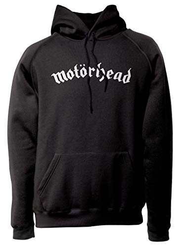 LaMAGLIERIA Unisex-Hoodie Motörhead - Classic Logo - Kapuzenpullover Rock Metal, L, schwarz