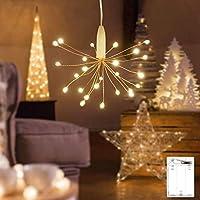 Guirlande lumineuse LED, Litogo Mini Guirlande LED a Pile 30CM 25 LEDs Intérieur et Extérieur Décoration Lumière pour…