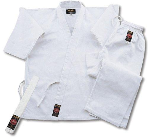 Mar - Uniforme da karate, colore bianco (NCAT-01), Uniforme da karate, one colour, 0000/100