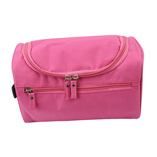 Hengsong Haute Capacité Sacs De Voyage Portable étanche Sac De Rangement (Rose rouge)