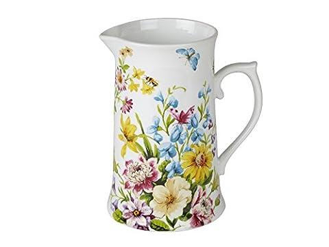 Creative Tops Katie Alice English Garden Shabby Chic hoch Porzellan Krug, mehrfarbig
