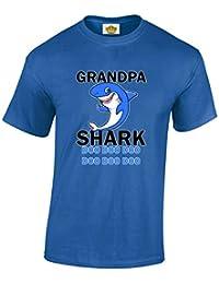 Crown Designs Baby Shark Diversion Familiar Camisetas de Regalo