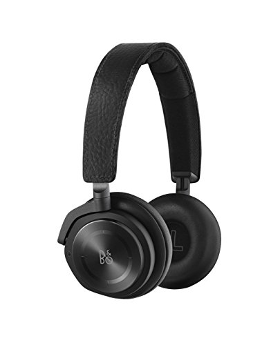 B&O Play 1642526 H8 Wireless On-Ear Active Noise Cancellation Headphones (Black)