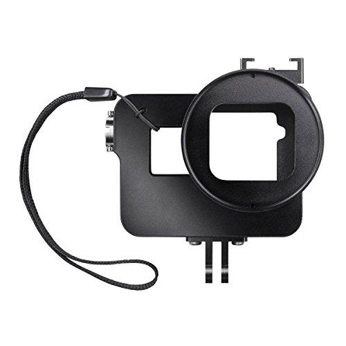 Black Magic Filter (Mantona Magic Alu Cage - Alu Gehäuse für GoPro Hero 7 6 5 Black Silver White inkl.inkl. UV-Filter mit Schraubgewinde, Sicherungsleine, Aufbewahrungsbeutel, Aluminium Gehäuse CNC, eloxiert für Outdoor)
