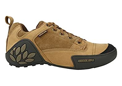 Woodland Camel Leather Shoes for men (42)