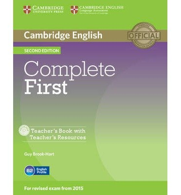 [(Complete First Teacher's Book with Teacher's Resources CD-ROM)] [Author: Guy Brook-Hart] published on (March, 2014)