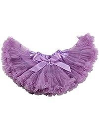 Topwedding satin et tulle filles jupe tutu avec une robe de fille de fleur bowknot