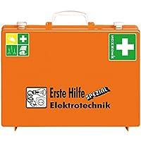 SÖHNGEN Erste-Hilfe-Koffer Elektrotechnik, mit Wandhalterung, orange, Din 13157, mit PRÜFPLAKETTE preisvergleich bei billige-tabletten.eu