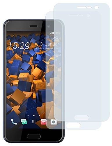 mumbi Schutzfolie kompatibel mit HTC U Play Folie klar, Bildschirmschutzfolie (2x)