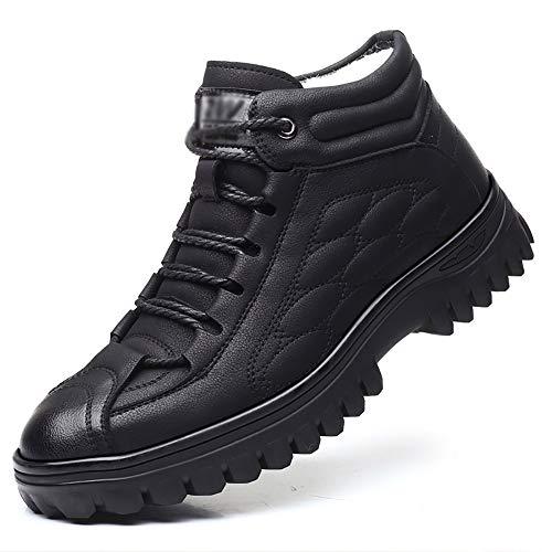 Senza marchio Scarpe da Uomo Scarpe Casual da Uomo Casual E Comode Scarpe Invernali da Lavoro Calde E Imbottite Scarpe da Lavoro Morbide Antiscivolo Uomo (Size : US8/EU39/UK6/CN39)