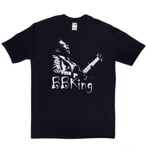 BB King Riley B. King American Blues Icon T-shirt Marineblau