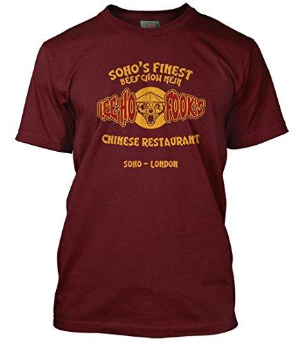 Warren Zevon Inspired Lee Ho Fooks Werewolves of London, Herren T-Shirt, Large, Rot