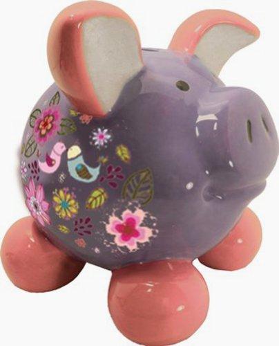 Swiggie Sparschwein Glücksschweinchen Turteltaube Spardose 8,5 cm 13 cm 15,5 cm: Größe: 13 cm