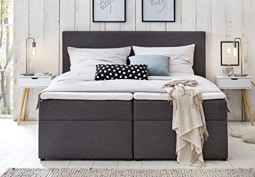 Bianca Boxspringbett 140×200 mit Bettkasten kaufen  Bild 1*