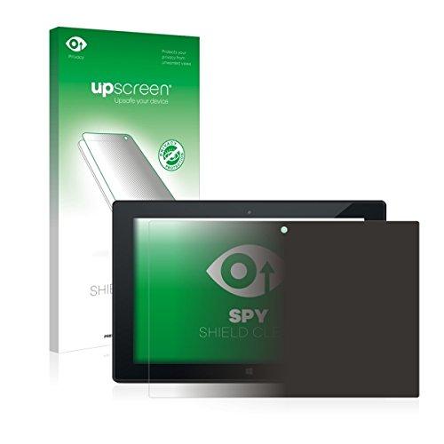 upscreen Spy Shield Clear Blickschutzfolie / Privacy für Odys Wintab 9 plus 3G (Sichtschutz ab 30°, Kratzschutz, selbstklebend)