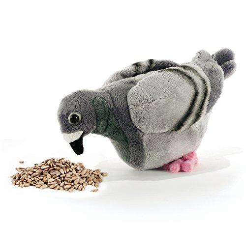 Plush & company claude le pigeon piccione l23 cm uccello volatile peluches gioca 667,, 8029956158261