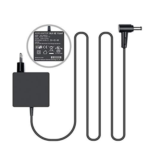 HKY 45W Laptop Netzteil Notebook Ladegerät für Asus UX330 UX330U UX360C UX305C X540 X541 F553F553M F556 F556U F302 K556U Taichi 21 31(45W 19V 2,37A und 33W 19V 1,75A) - Asus-laptop-batterie-ladegerät