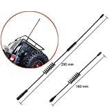 Hootracker Metal Antena Decorative Antenna 160MM 270MM 1/10 RC Crawler Accessories Decoration for 1/10 RC Crawler Axial SCX10 90046 D110 D90 RC 4WD Traxxas TRX-4 TRX4 Car