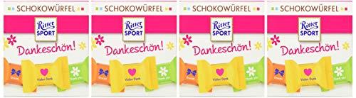 Ritter Sport Schokowürfel Dankeschön!, 4er Pack (4 x )