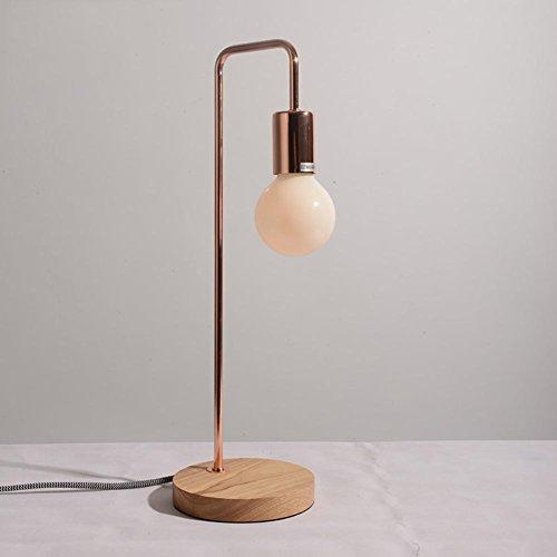 Lámpara mesilla dormitorio minimalista nórdico/Personalidad