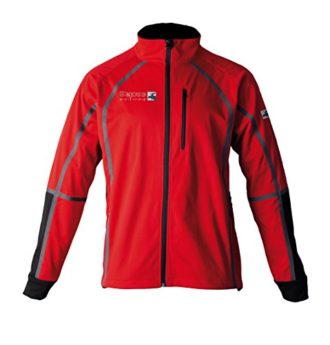 Deproc Active Herren Midlayer Softshelljacke Thorsby Darkred Black
