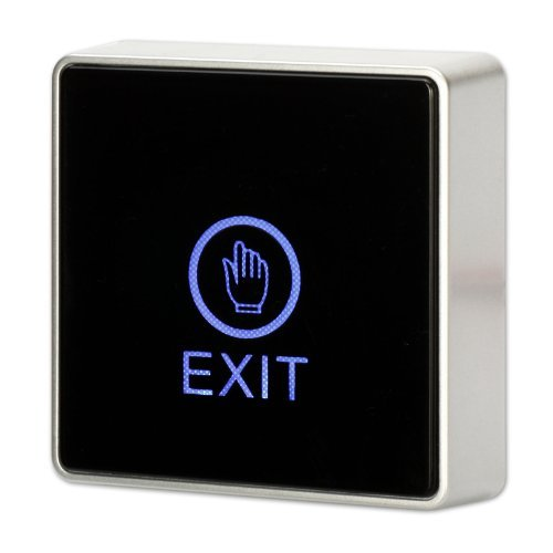 Generic DC 12 V NC NO quadratisch mit Bewegungssensor Tür Exit Auslöseknopf Schalter W LED Lampe -