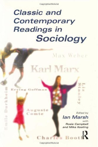 Classic and Contemporary Readings in Sociology by Ian Marsh (1998-08-03)