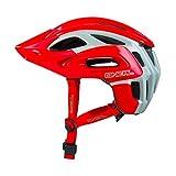 O'Neal Orbiter II Fidlock MTB Helm Grau Rot Mountain Bike Fahrrad Helm, 0616-00, Größe XL/XXL (61-64 cm)