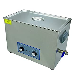 Ultrasonic Cleaner 27 Litre Large Dial Tank Heated Industrial Ultrasonic Bath