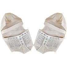 VORCOOL Calcetines Baile pie del Dedo Almohadillas de Danza del Vientre para  Barre Danza Yoga pilate 912b91e7d696
