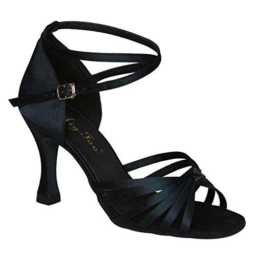 Frühling und Sommer/Latein Schuhe/Adult Schuhe mit hohen Absätzen/Tanz Fersen/Lombardei Schuhe-E (Schuhe Jane Adult Lady)